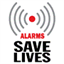 Alarms save lives 90x90