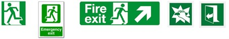Emergency Exit Sign Examples HBR Dec16